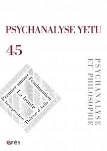 1-Psychanalyse Yetu 45+3.indd